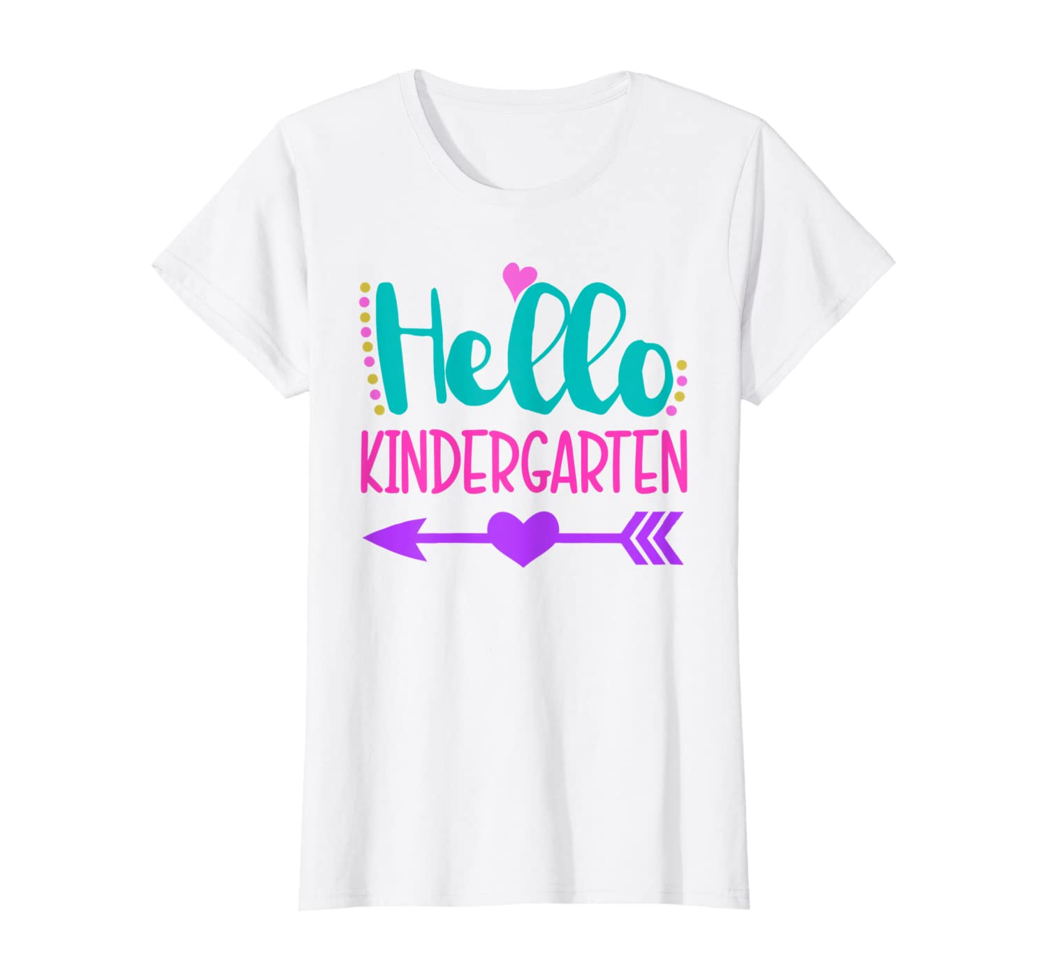 Hello Kindergaten - 1st Day of Kindergarten T-Shirt