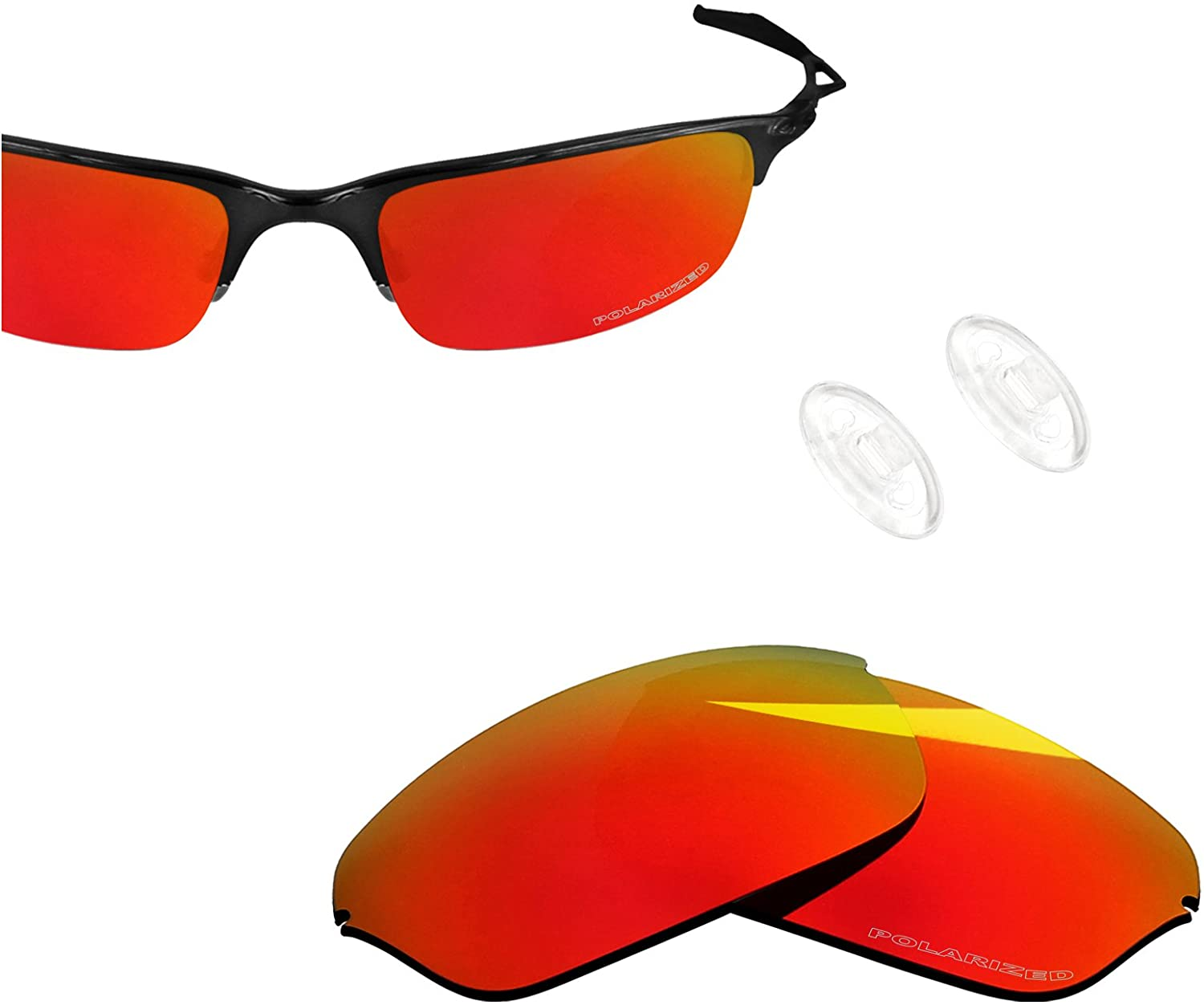 BlazerBuck Anti-salt Polarized Replacement Lenses for Oakley Half Wire 2.0