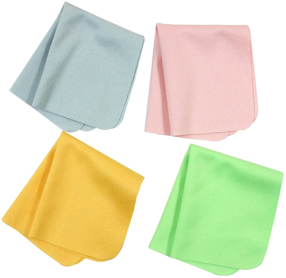 Ranvi 20 PCS Microfiber Cleaning Cloths - For Cell Phones,Laptops,Tablets,Glasses
