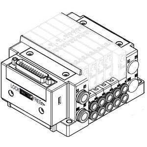 SMC SS5Y3-C02-DUQ02215 valve - ss5y3 manifold sy3000 family ss5y3 no size rating - blank seal plate, 100 pcs min