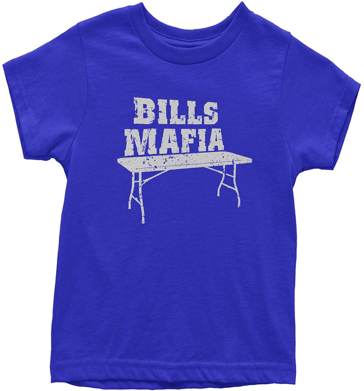 Expression Tees Bills Mafia Football Fan Youth T-Shirt
