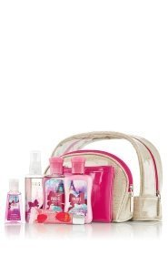 Bath & Body Works Cosmetic Case Trio Gift Set Paris Amour