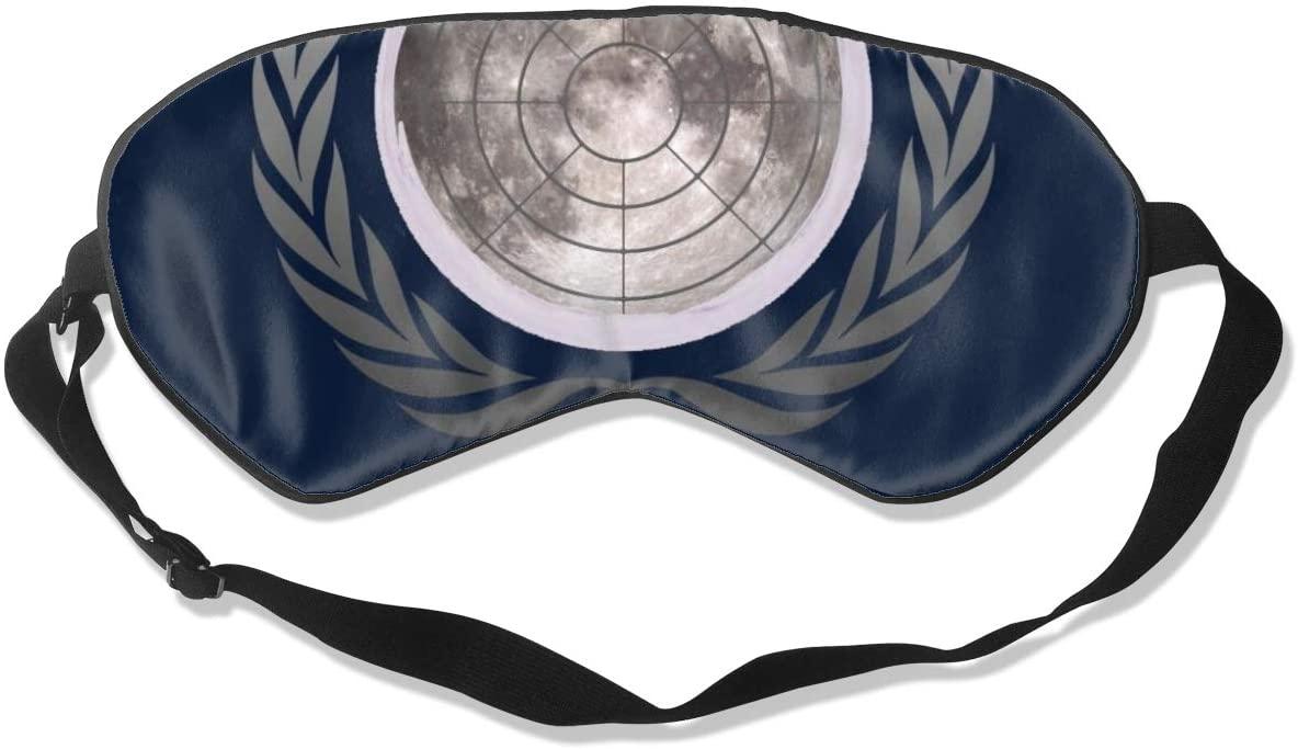 Sleeping Mask 100% Blackout,Flat Moon Society Sleep Mask,Night Masks,Super-Smooth Eye Mask