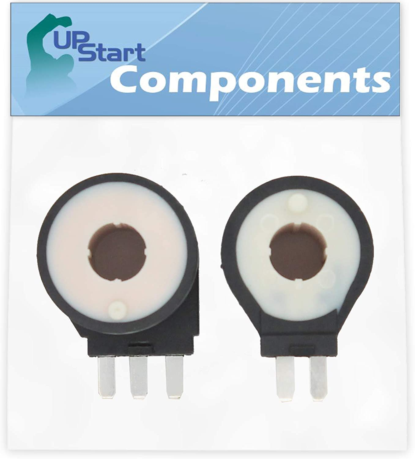 279834 Gas Dryer Coil Kit Replacement for Maytag SDG4606AWW Dryer - Compatible with 279834 Dryer Gas Valve Ignition Solenoid Coil Kit - UpStart Components Brand