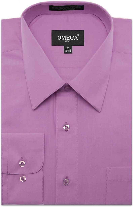 JC DISTRO Men's Dress Shirt w/Pocket Regular Fit