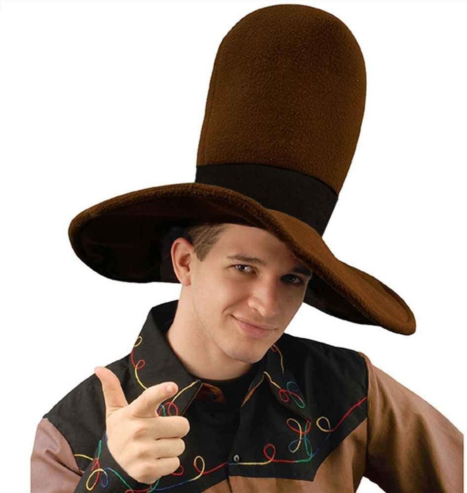 Forum Novelties 54713 Jumbo Brown Cowboy Hat