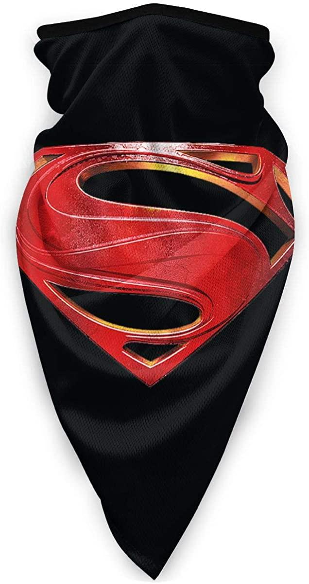 Superman Man of Steel â…¡ Unisex Seamless Bandana Headwear, Motorcycle Face Scarf for Women Men