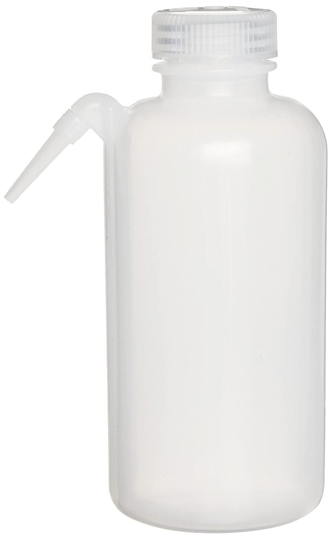 Millipore XX6504704 Translucent Polyethylene Solvent Dispensing Bottle, 500mL Capacity
