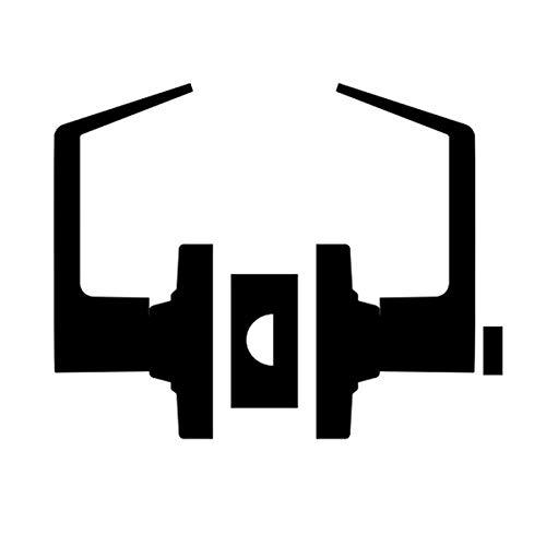 Schlage ND40S RHO 619 Cylindrical Lock, 9.5