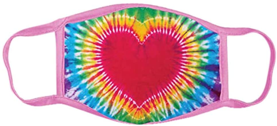 Kids Reusable Breathable Seamless Face Bandanas Dustproof Cotton Fabric Facemasks