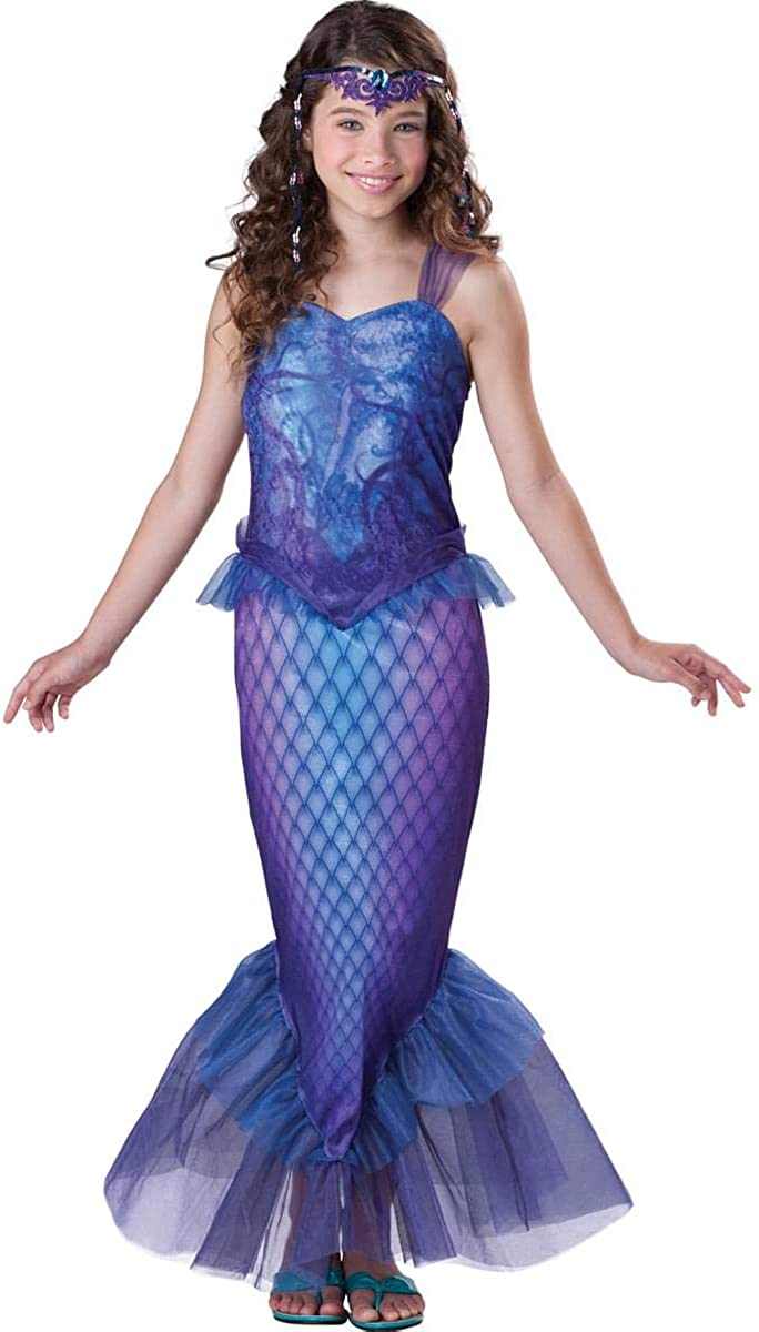 Halloween FX Mysterious Mermaid Child Costume - Large (12-14)