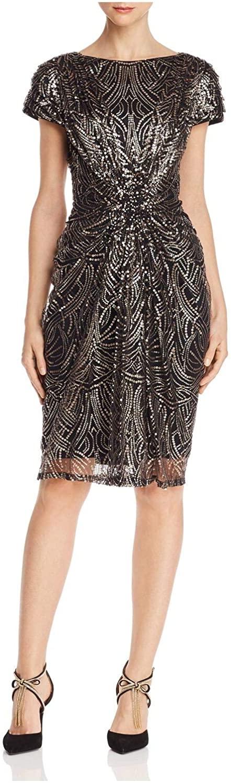 Tadashi Shoji Women's S/S Sequin Dress