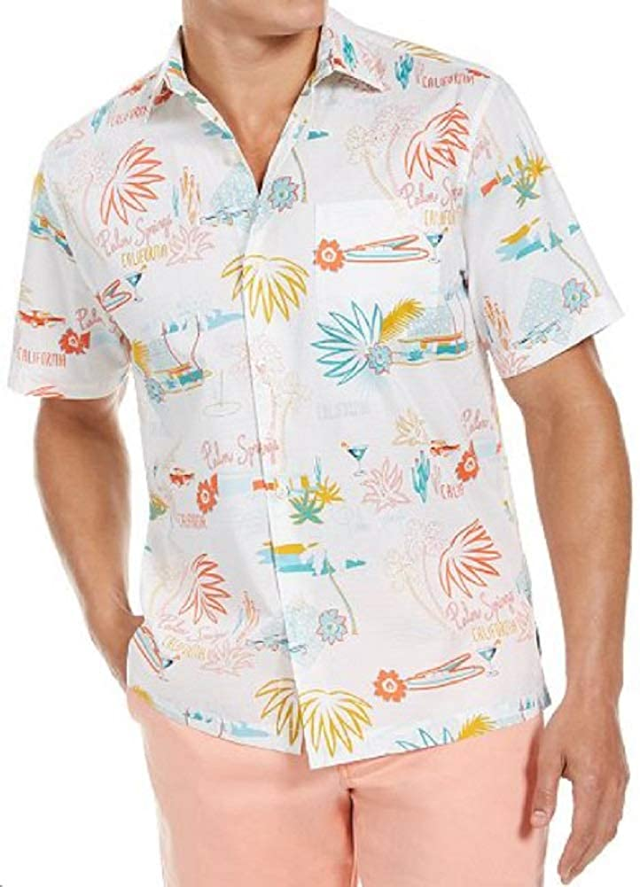 Tommy Bahama Welcome to Palm Springs Camp Shirt