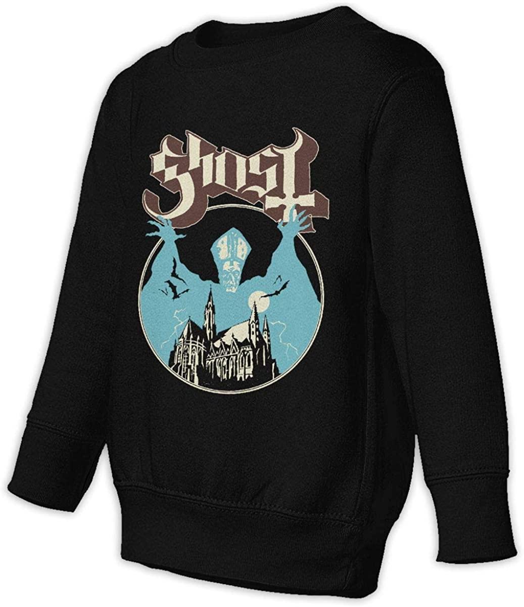 ASIUHAW Ghost Meliora Unisex Sweatshirt Youth Boy and Girls Pullover Sweatshirt