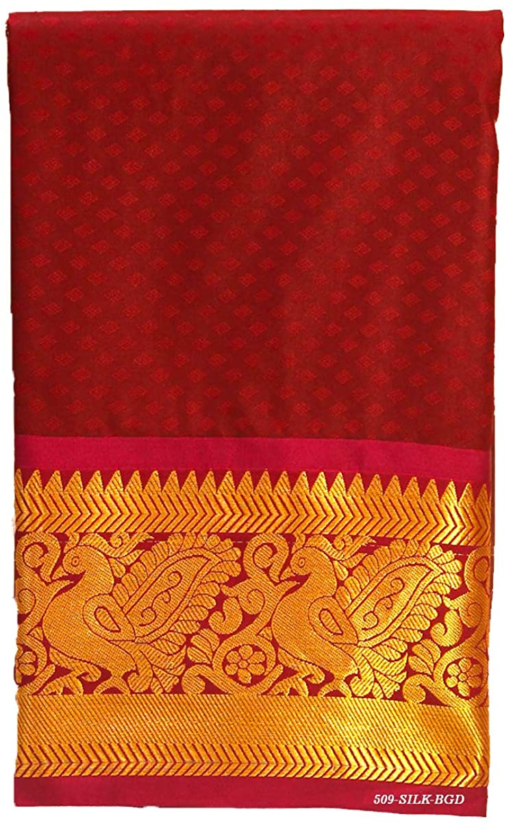 Pure Silk Saree for Women Kanchipuram Kanjivaram Pattu Sari Handloom Banarasi Silk Tussar Silk Mysore Silk Burgundy