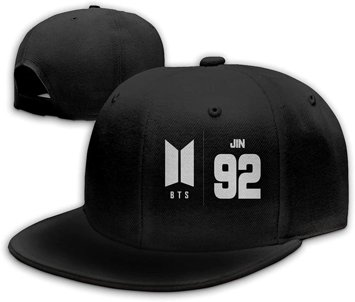 Kpop BTS Casquette Hip Hop Hat Outdoor Baseball Cap Classic Adjustable Unisex Black