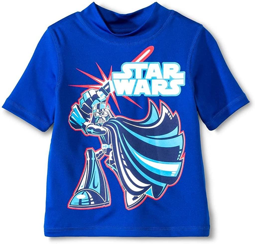Star Wars Little Boys' Rash Guard in Blue