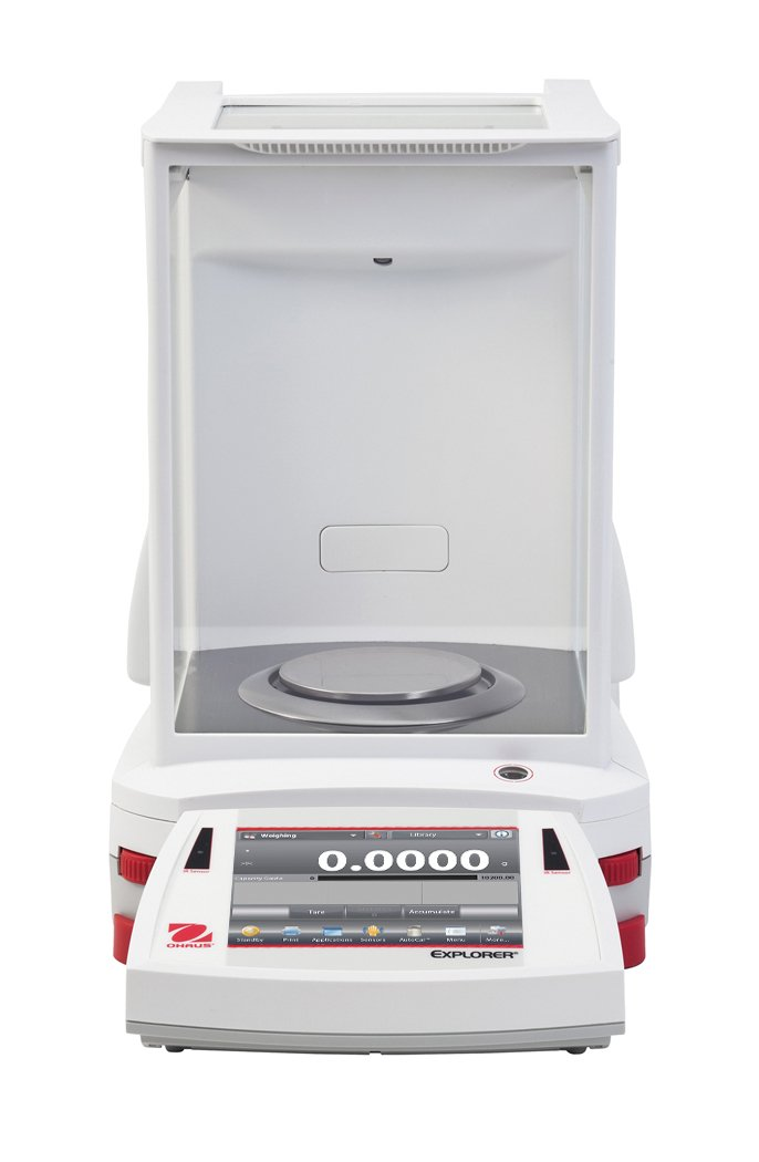 Ohaus EX324N/AD Explorer Analytical Balance with Automatic Door, 320 g