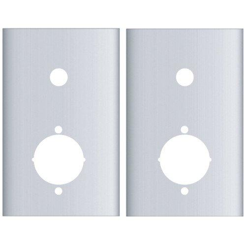 Pro-Lok Arrow Revolution/Yale Intouch Flat Plate Set (Stainless Steel Finish)