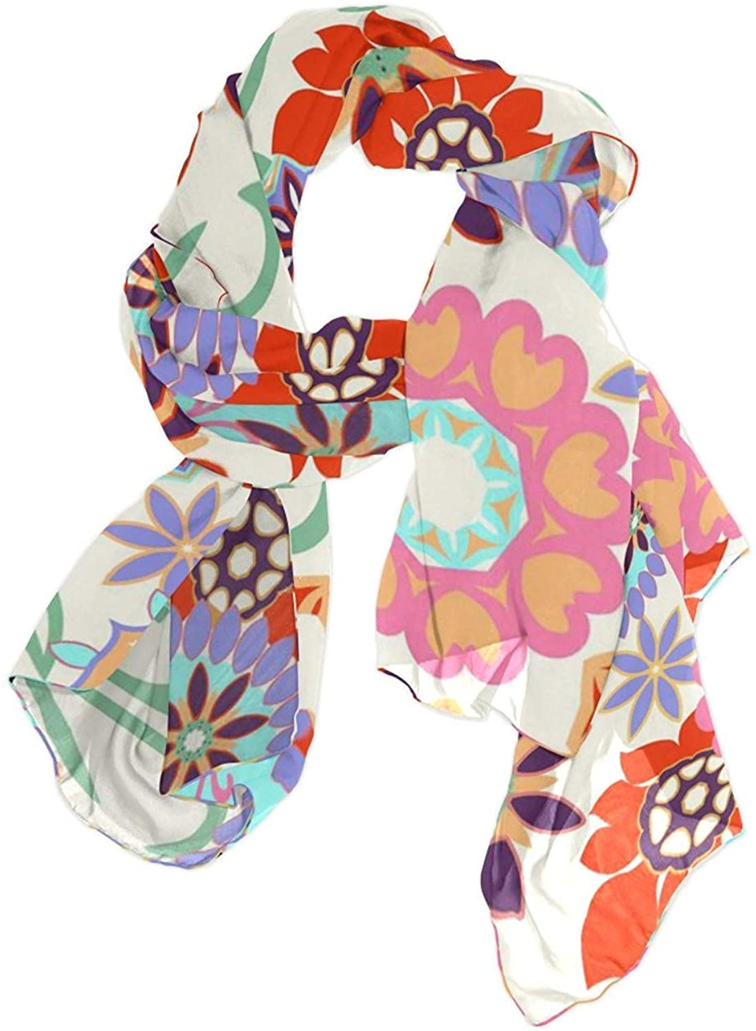 Flower Paisley Women Fashion Light Weight Print Scarves Scarf Gorgeous Shawl Wrap-Various Colors