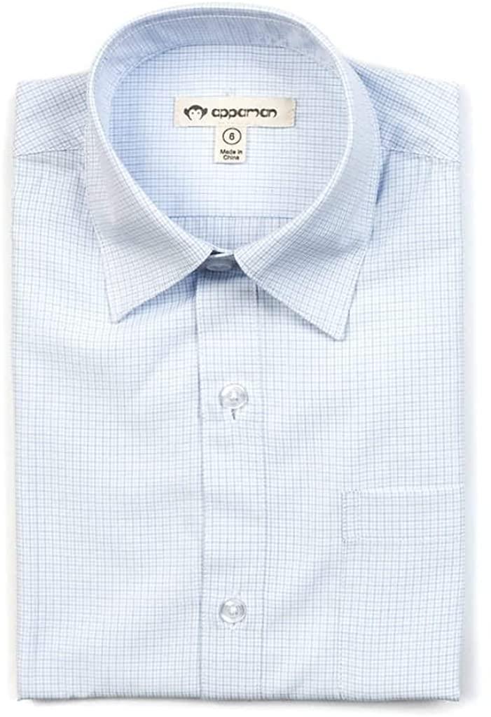 Appaman The Standard Shirt   Pale Blue Check