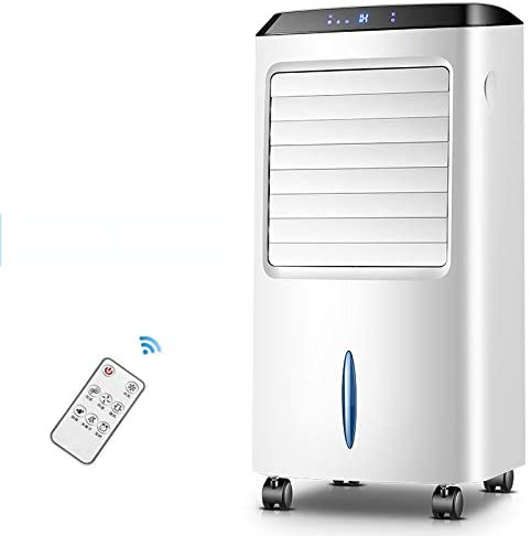 GE&YOBBY Removable Air Conditioner with Remote Control,Digital Touch Screen Air Cooler with Cold and Hot Wind Time Settings Ice Pack for Home Office A