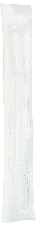 CORNING 357575 Disposable Plastic Pipette, 3 mL Capacity, Transfer Pipette, 1 mL and 2 mL Subdivision, Individual Wrap
