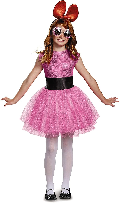 Blossom Tutu Deluxe Costume, Pink, Medium (7-8)
