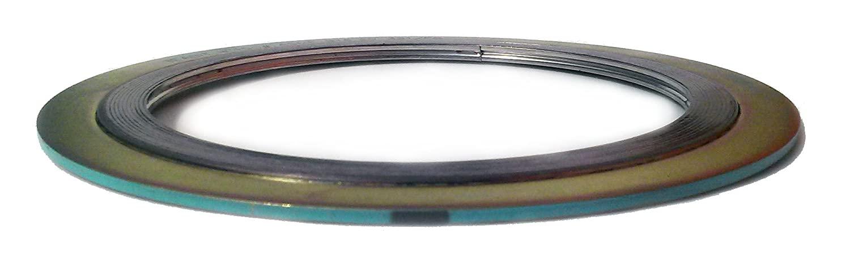 Sur-Seal, Inc. Teadit 90004321GR900 Spiral Wound Gasket, Turquoise, 321SS/FG (Flexible Graphite), 4.75
