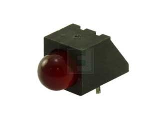 DIALIGHT 550-0407F 550 Series Red Ø5 mm 60° 12.3 mcd Diffused 40 mA 2 V LED Circuit Board Indicator - 50 Item(s)