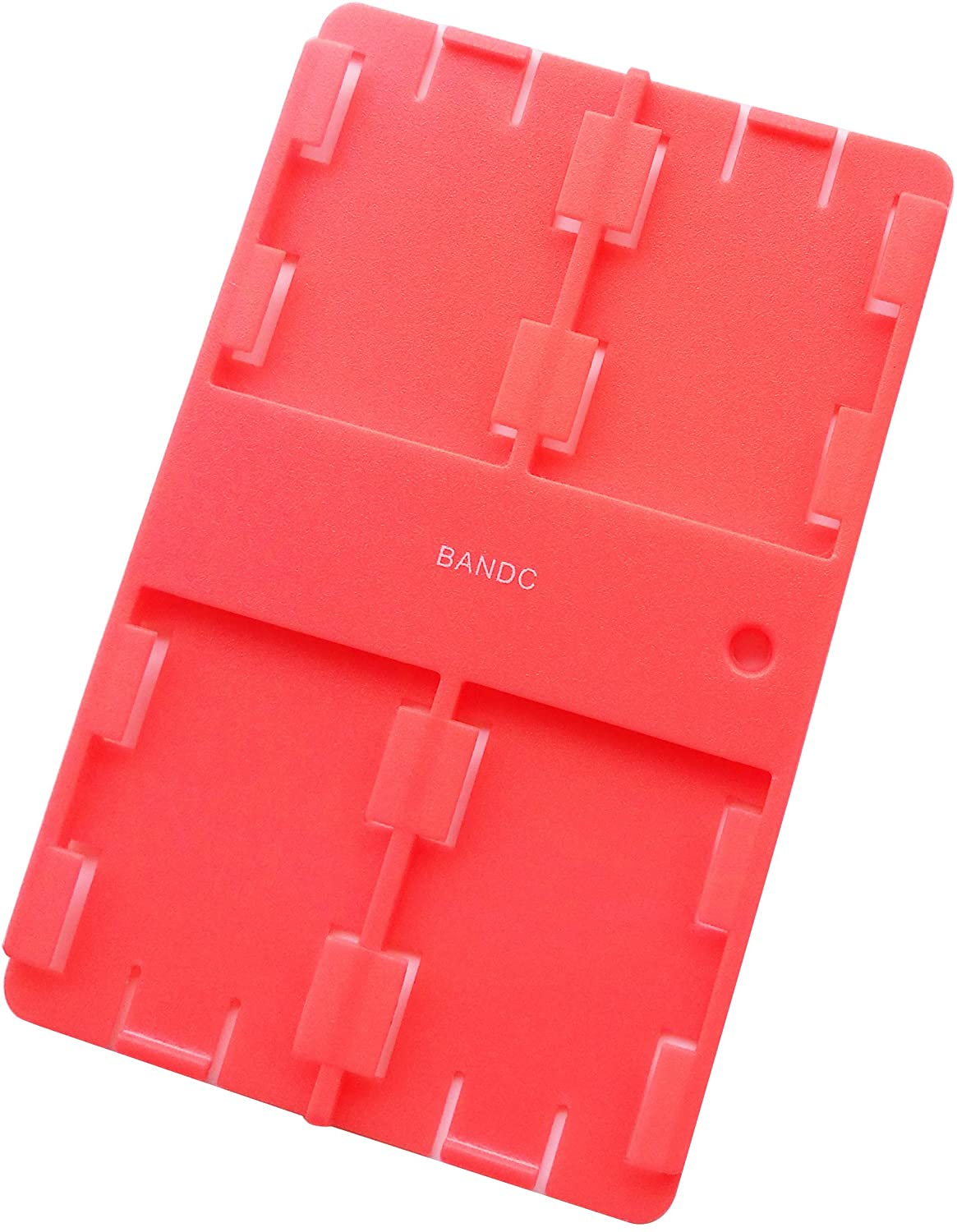 Bandc 2pcs Red Sd/sdhc/sdxc Card Storage Holder Case (Memory Card Not Included)