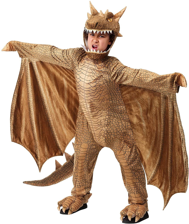 Childs Fantasy Dragon Costume