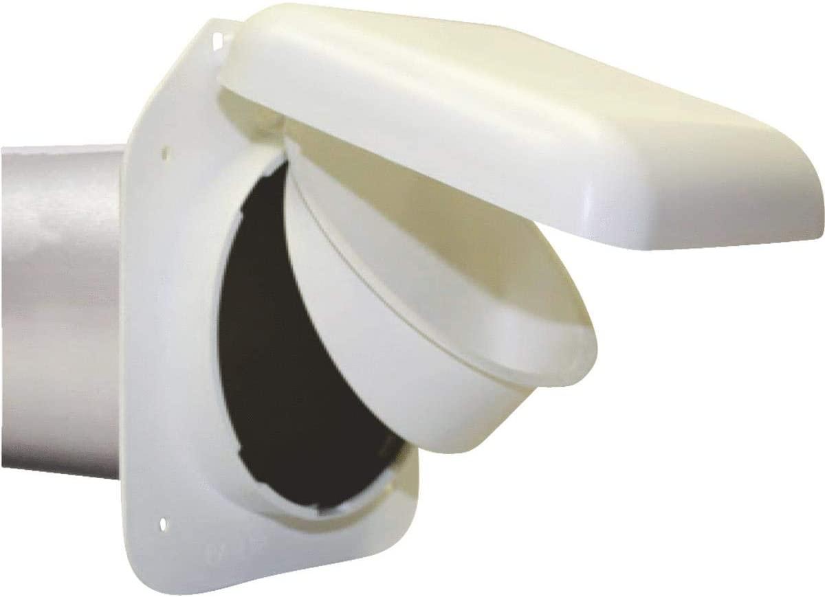 P Tec Products Low Profile Vent White