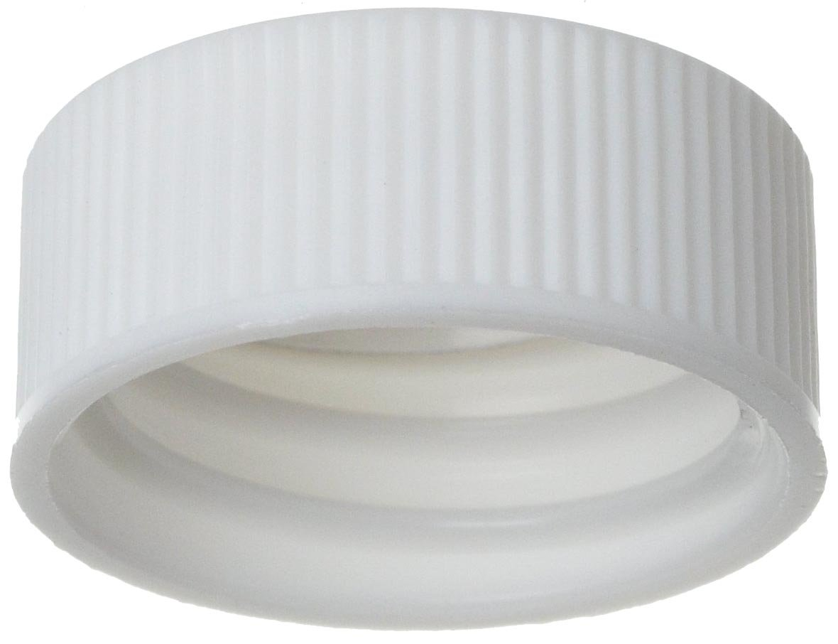 Wheaton 240804 Polypropylene 22-400 Screw Cap with Metal Foil Liner (Case of 1000)