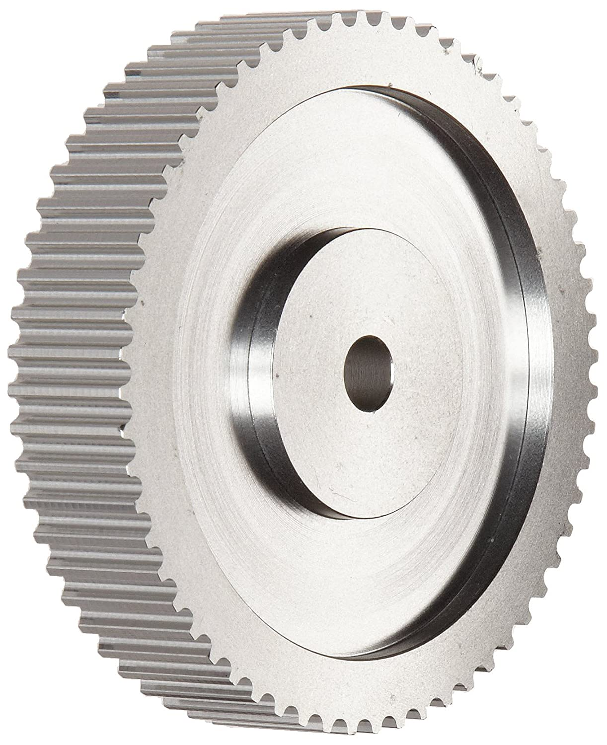 66T10/48 0 Ametric Metric Pitch Aluminum Timing Pulley, T 10mm Pitch, for a 50mm Wide Belt, 48 Teeth, 150.95 mm Outside Diameter, (Mfg Code 1-017)