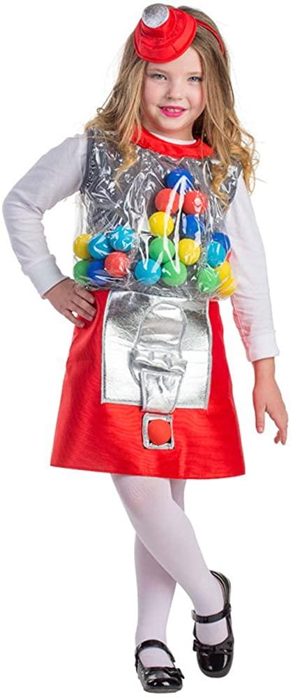 Dress Up America Girls Gumball Machine Costume