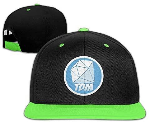 BabyCu Kids The Diamond Minecart DAN TDM Adjustable Snapback Hip-hop Baseball Hat for Children