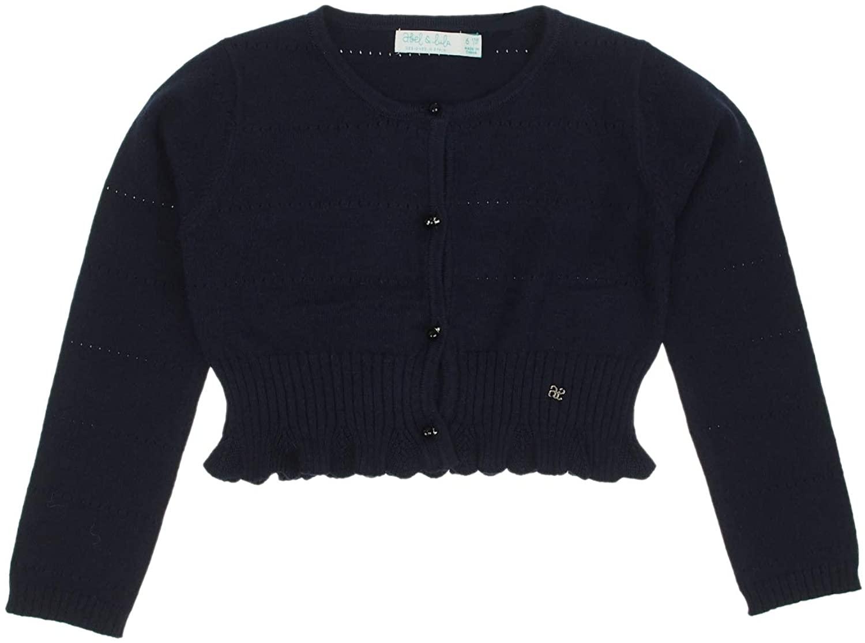 Abel & Lula - Knit Cardigan for Girls - 5804, Navy