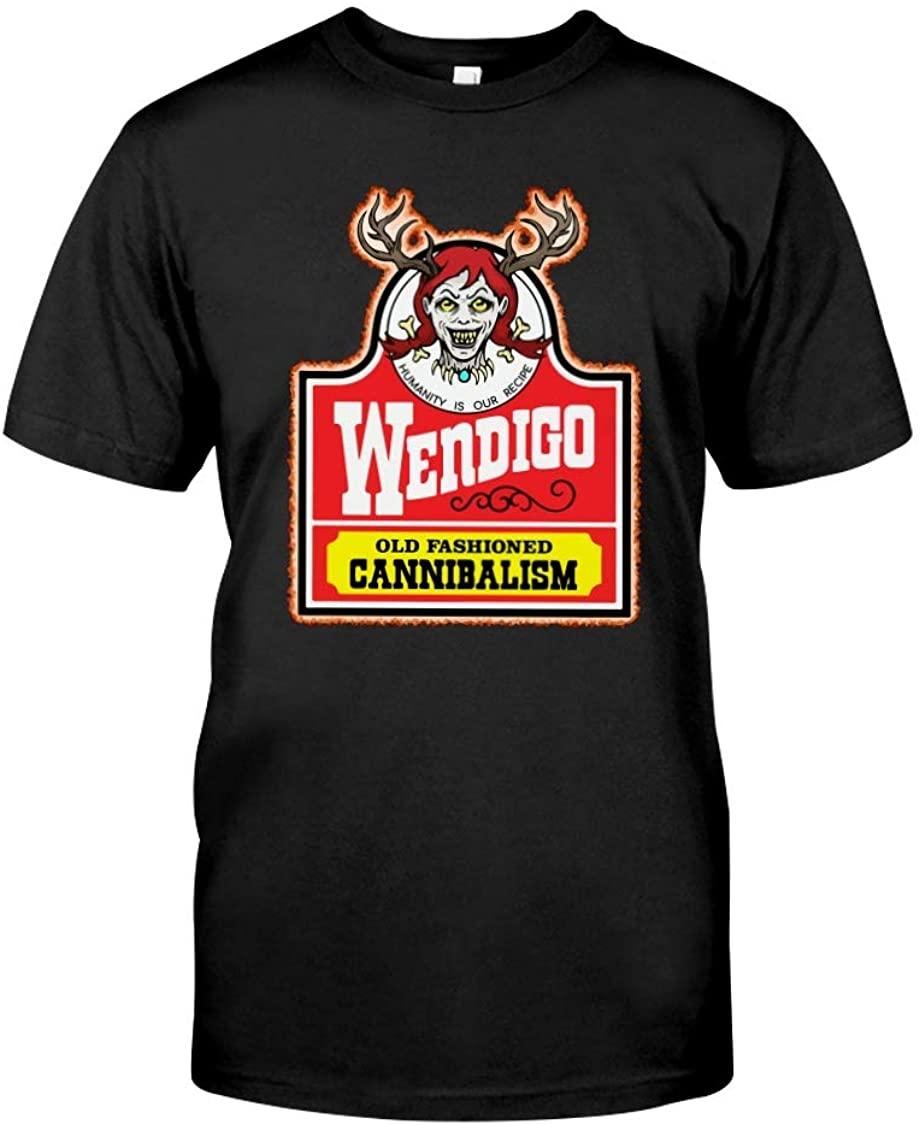 NovaStar Hoodies Funny Halloween T-Shirt Wendy The Wendigo Shirt, Funny for Men Women