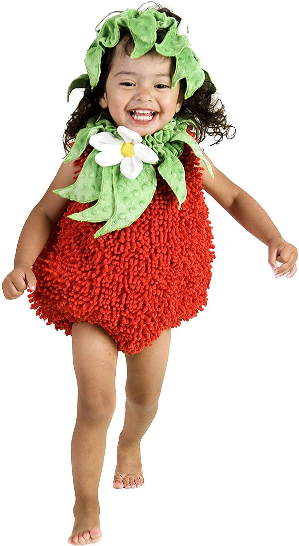 Princess Paradise Baby Girls' Suzie Strawberry Deluxe Costume