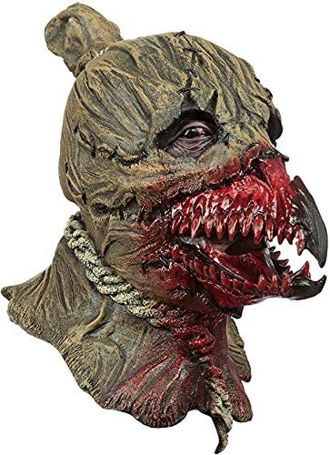 Alinco Costumes Halloween Horror Party Scarecrow King of Crows Latex Mask