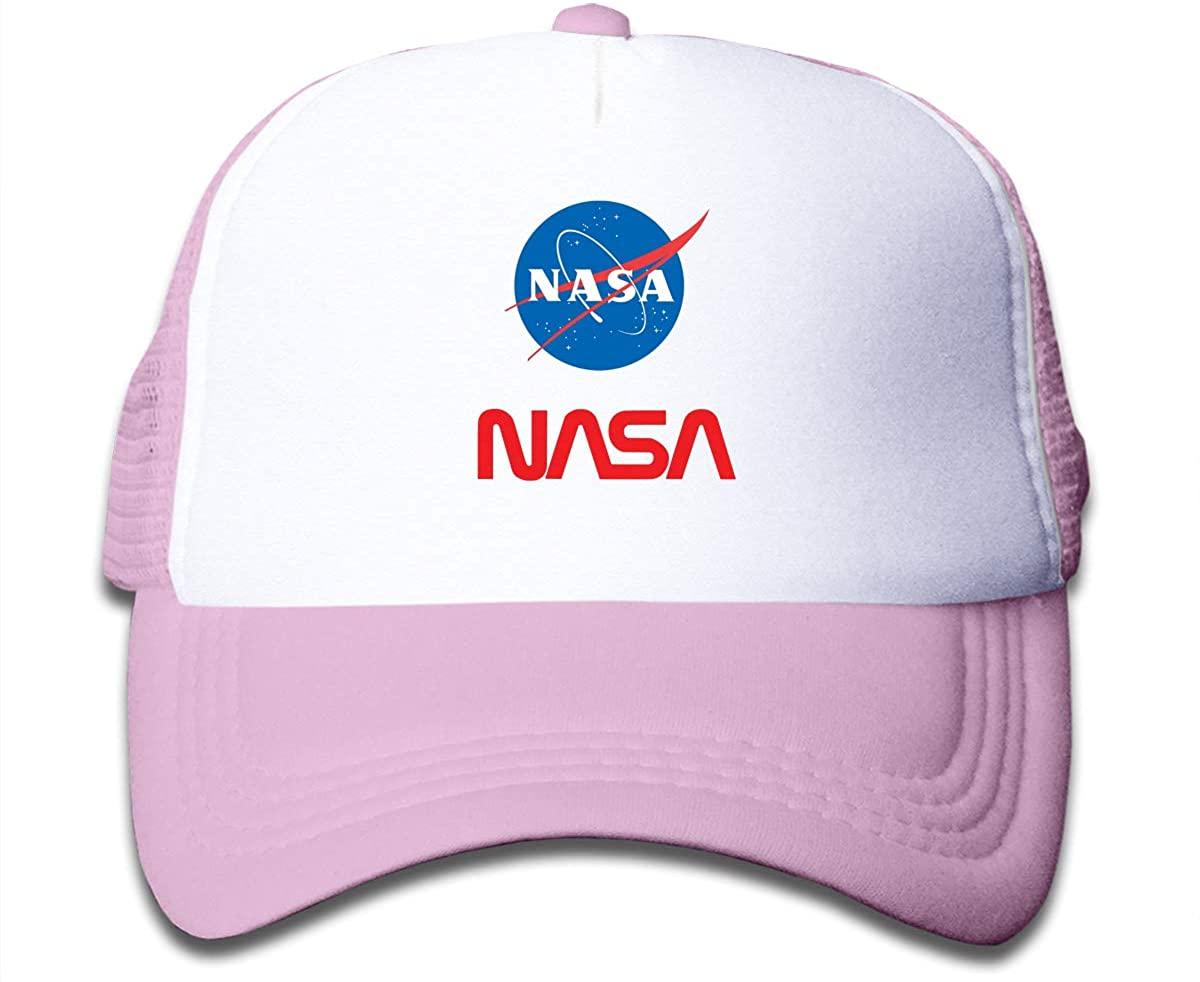 71 Nasabaseball Caps for Kid's Trucker Hats Adjustable Mesh Cap