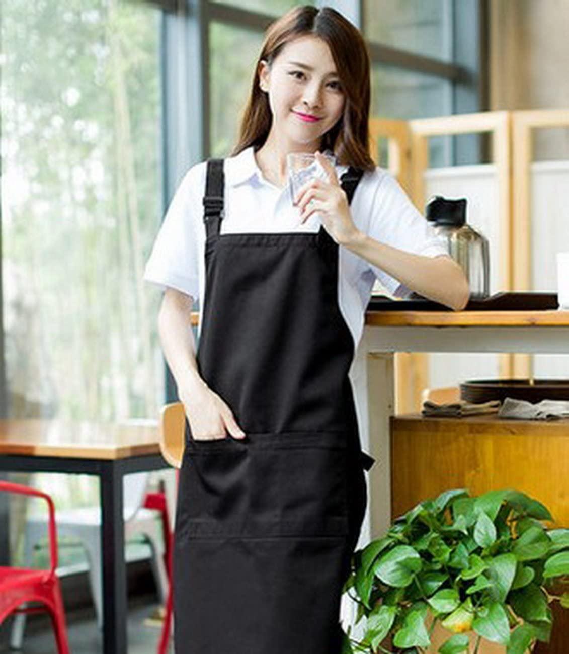 geranjie Work clothes apron kitchen nail supermarket coffee shop milk tea shop waiter
