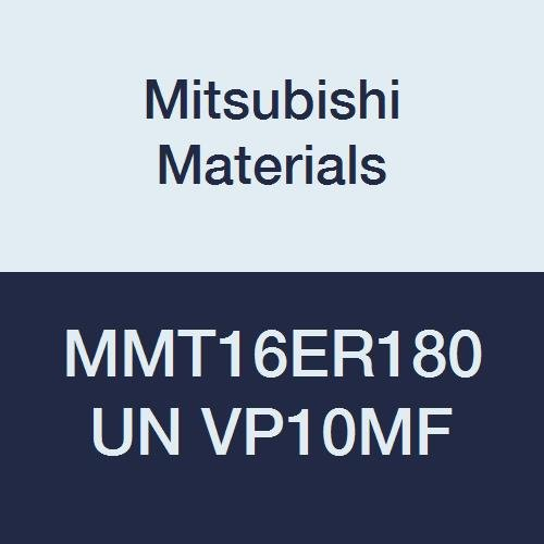 Mitsubishi Materials MMT16ER180UN VP10MF MMT Series Carbide G-Class External Ground Threading Insert, American UN Type, Right, Grade VP10MF, 1.8 mm Pitch, 9.525 mm IC (Pack of 5)