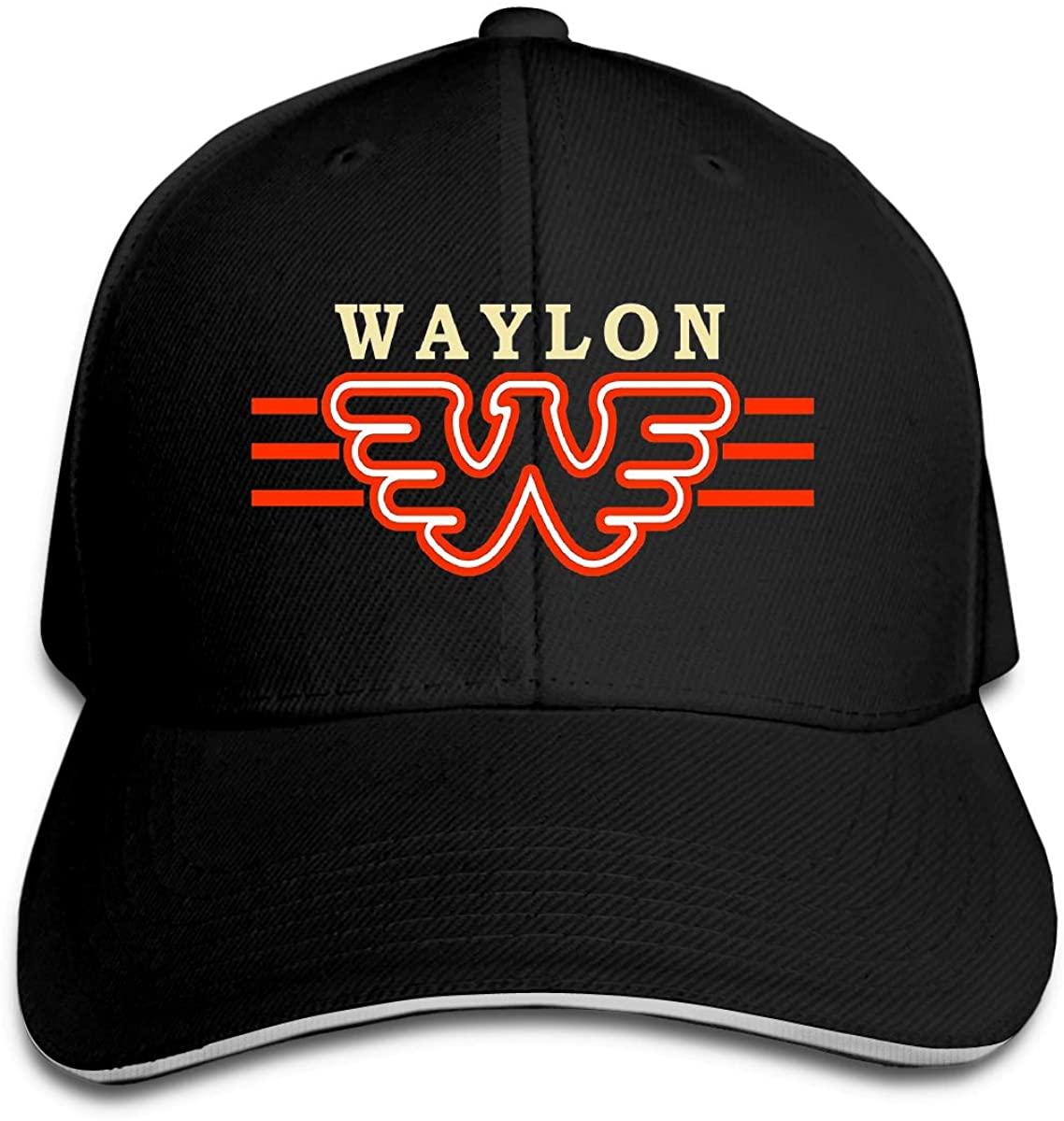 LEONNER Waylon Jennings Fashion Baseball Cap Leisure Casquette Cap Breathable Hat