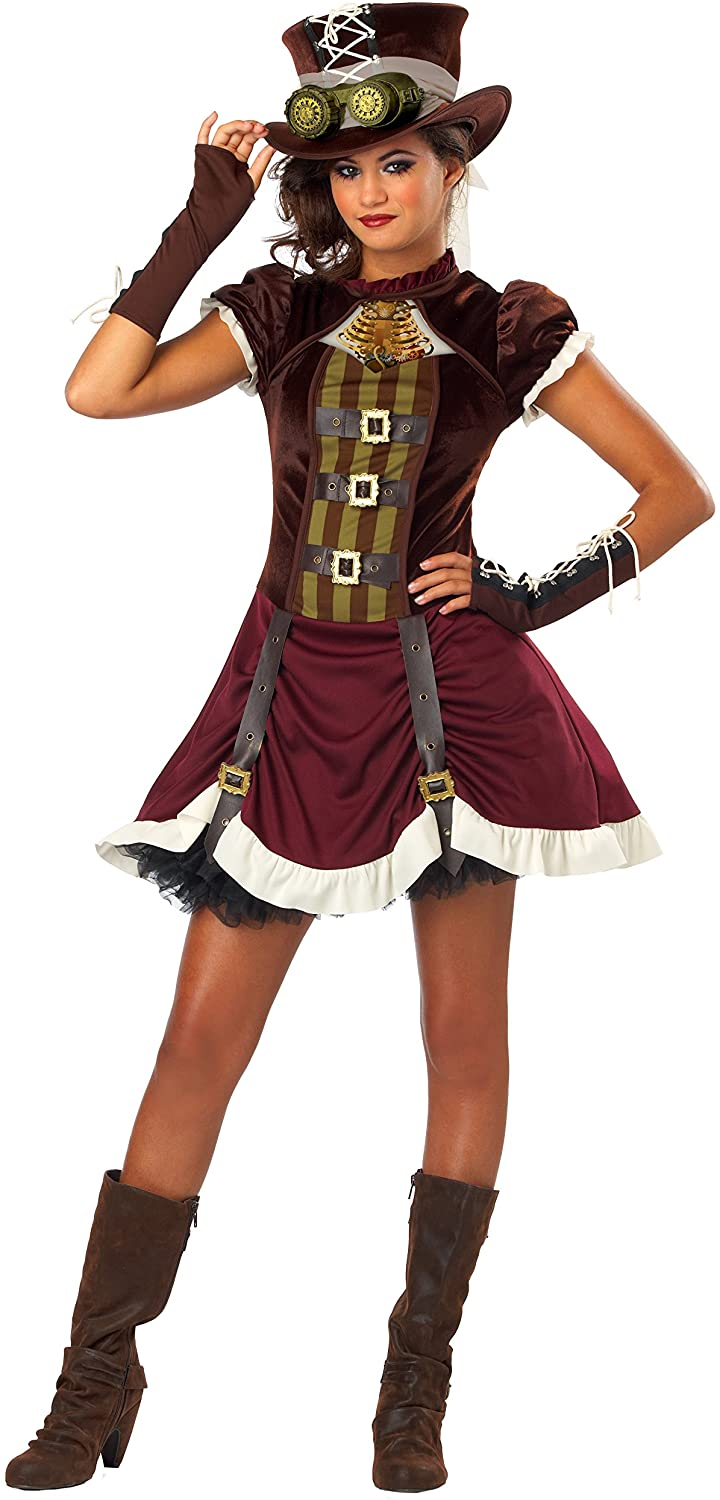 California Costumes Steampunk Girl Tween Costume, Large
