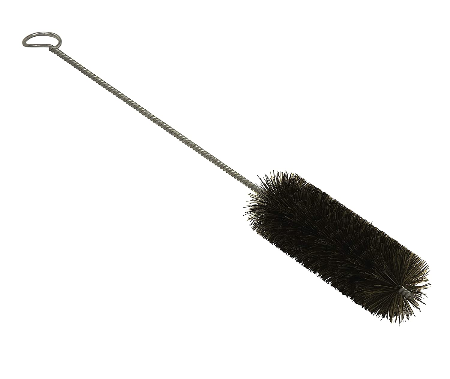 Tanis 06085 Cut Off Tip Bottle Cleaning Brush, Horse Hair Bristle, 1