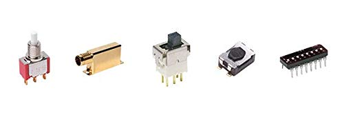 7101MDA4BE, Miniature Toggle Switch (5 Items)