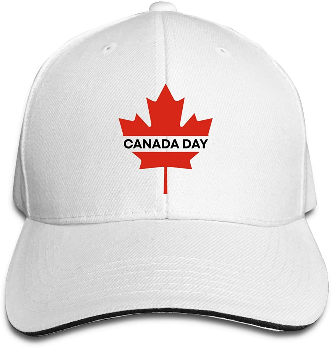 Women and Boy's Classic Pointed Cap Casquette Canada Maple Leaf Canadian Flag