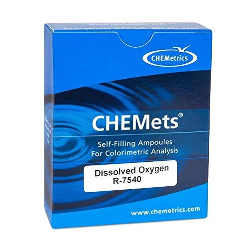 CHEMetrics R-7540 CHEMets Dissolved Oxygen Refill, Rhodazine D, 30 Ampoules